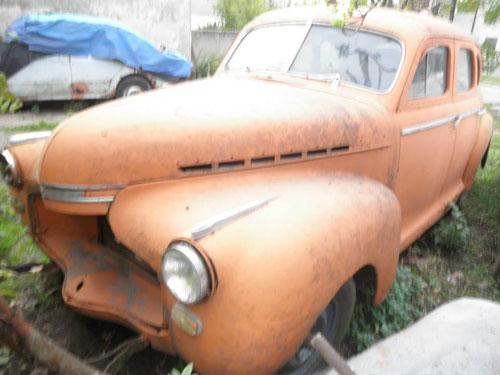 Car Chevrolet 1941 Deluxe
