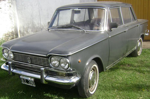 Car Fiat 1500 Berlina