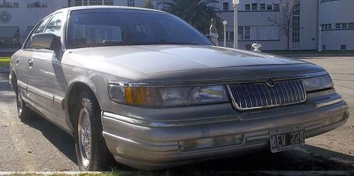 Car Mercury Grand Marquis