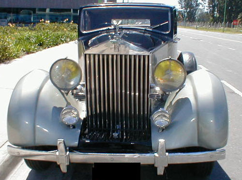 Car Rolls Royce 1936
