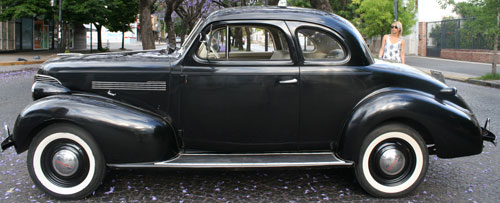 Auto Chevrolet 1939 Master De Luxe Coupé
