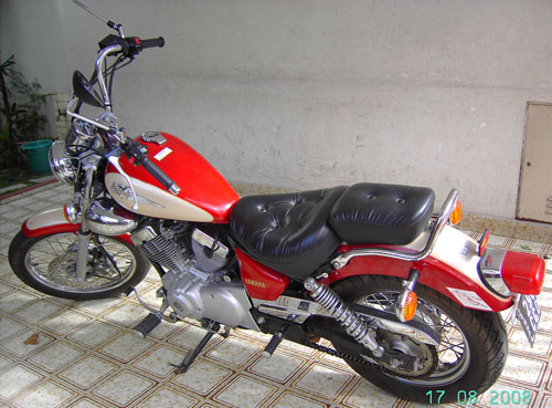 Car Yamaha Virago XV 250