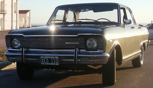 Car Chevrolet 1972 Special 400