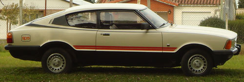 Auto Ford Taunus Coup� 1983