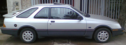 Auto Ford Sierra XR4 Coup�