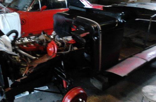 Auto Chevrolet Coupé 1929