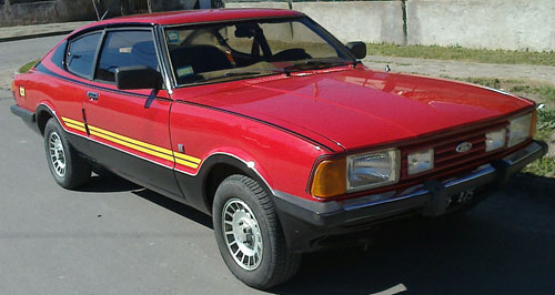 Car Ford Taunus SP5