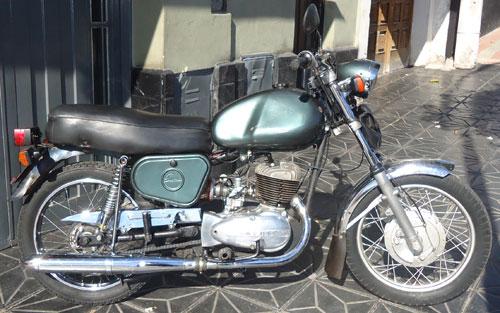 Motorcycle Puma 200 5ta. Serie