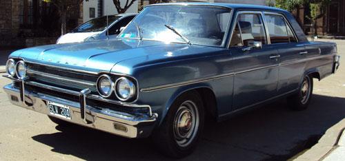 Car Rambler 1969