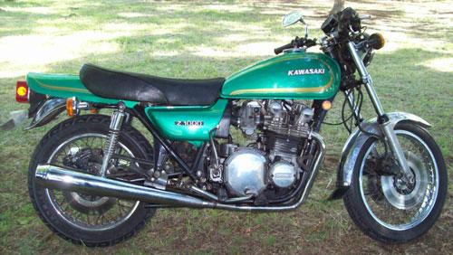 Moto Kawasaki KZ 1000