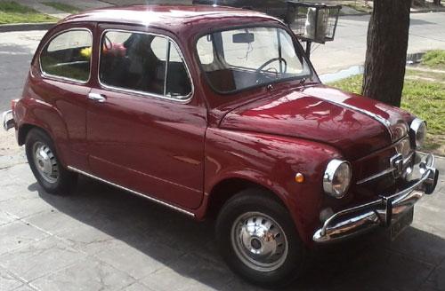 Auto Fiat 600 E 1968