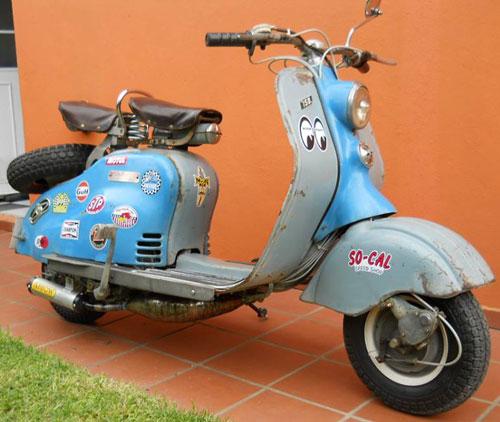 Motorcycle Siambretta LD 150 1960