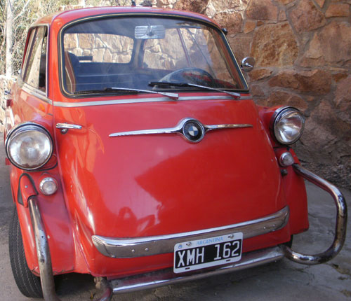 Car BMW Isetta De Carlo