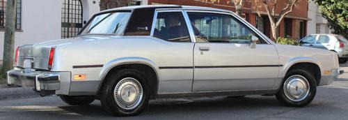Car Oldsmobile Omega 1980