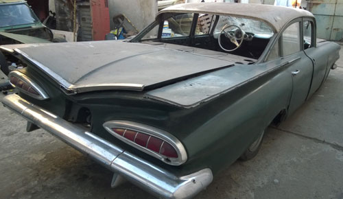 Car Chevrolet Impala 1959
