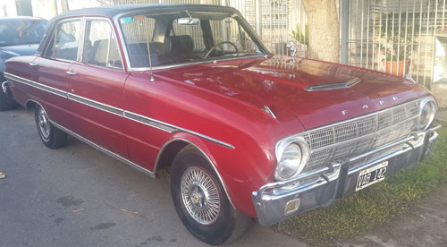 Auto Ford Falcon Futura 1966