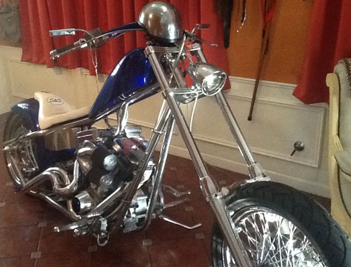 Motorcycle Custom Eddie Trotta