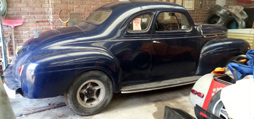 Car Dodge 1940