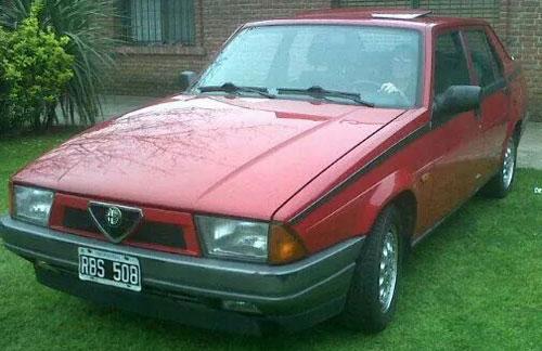 Car Alfa Romeo 75