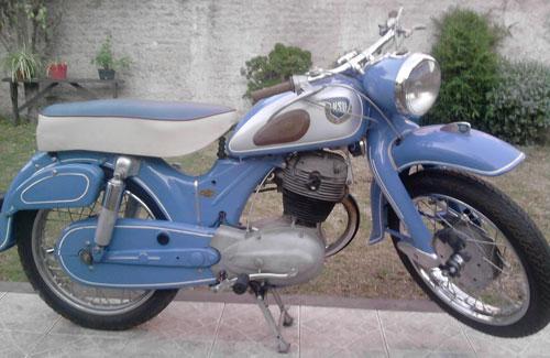 Motorcycle NSU 250 1956