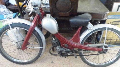 Motorcycle NSU Quickly 1957