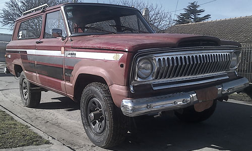 Car Jeep Cherokee Chief 1978
