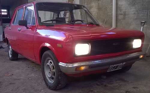 Car Fiat 128 Europa