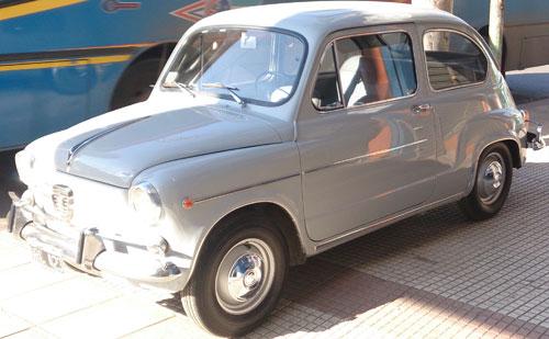 Car Fiat 600 1964