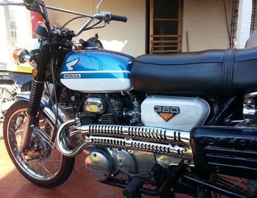 Moto Honda CL 350 Scrambler