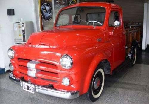 Car Dodge B3 1952
