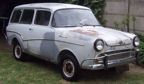 Car Isard 700 Kombi