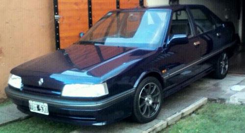 Car Renault 21 GTX 1992