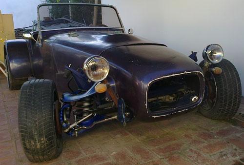 Car Lotus Seven