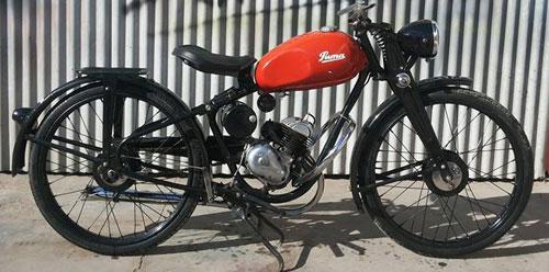 Moto Puma 98 2da. Serie