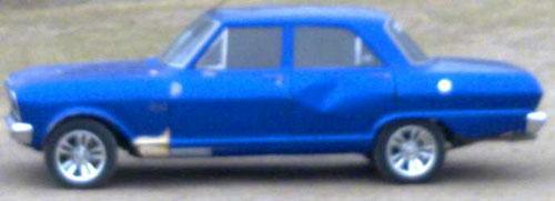 Car Chevrolet 400 Rally Sport