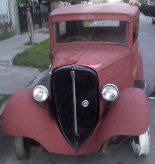 Auto Fiat 1932