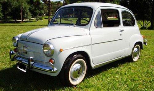 Auto Fiat 1966