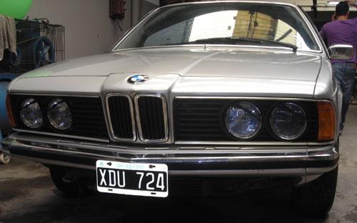Auto BMW 635