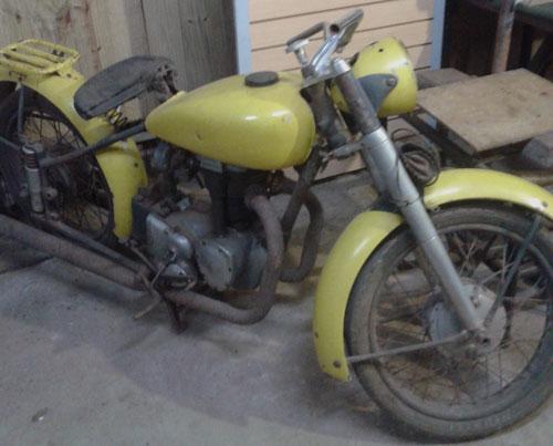Moto Horex Regina