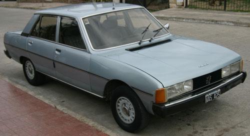 Car Peugeot 604