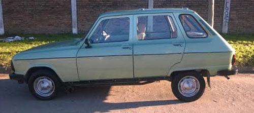 Car Renault 6 GTL 1984