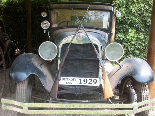 Auto Ford Tudor Police 1929