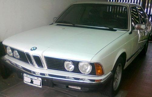 Car BMW 735 I 1980