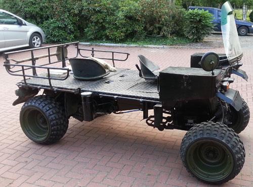 Auto Faun Vehículo Militar
