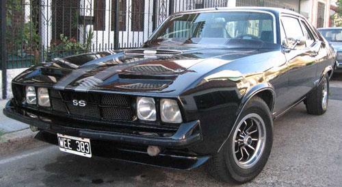 Car Chevrolet Chevron Super 1979