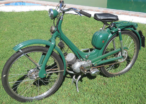Motorcycle Siambretta 48