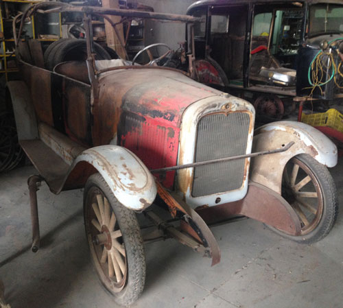 Car Chevrolet 1926