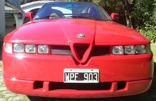 Car Alfa Romeo Zagato SZ