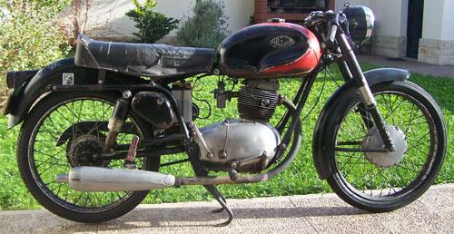 Motorcycle Gilera 150 1960