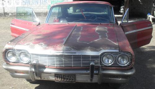 Car Chevrolet Impala Coup� 1964